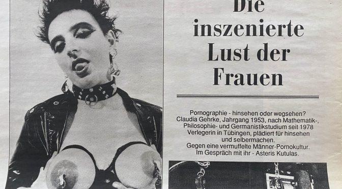 PorNO & Erotische Kultur von Frauen – Interview mit Claudia Gehrke